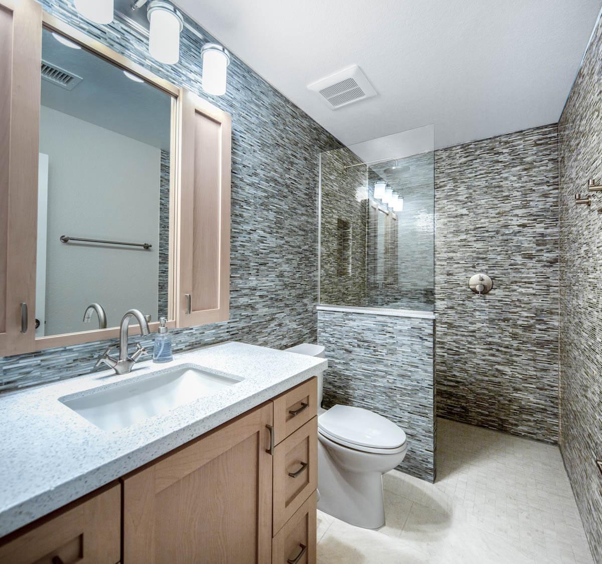 Standard Upstairs Bath remodel 1