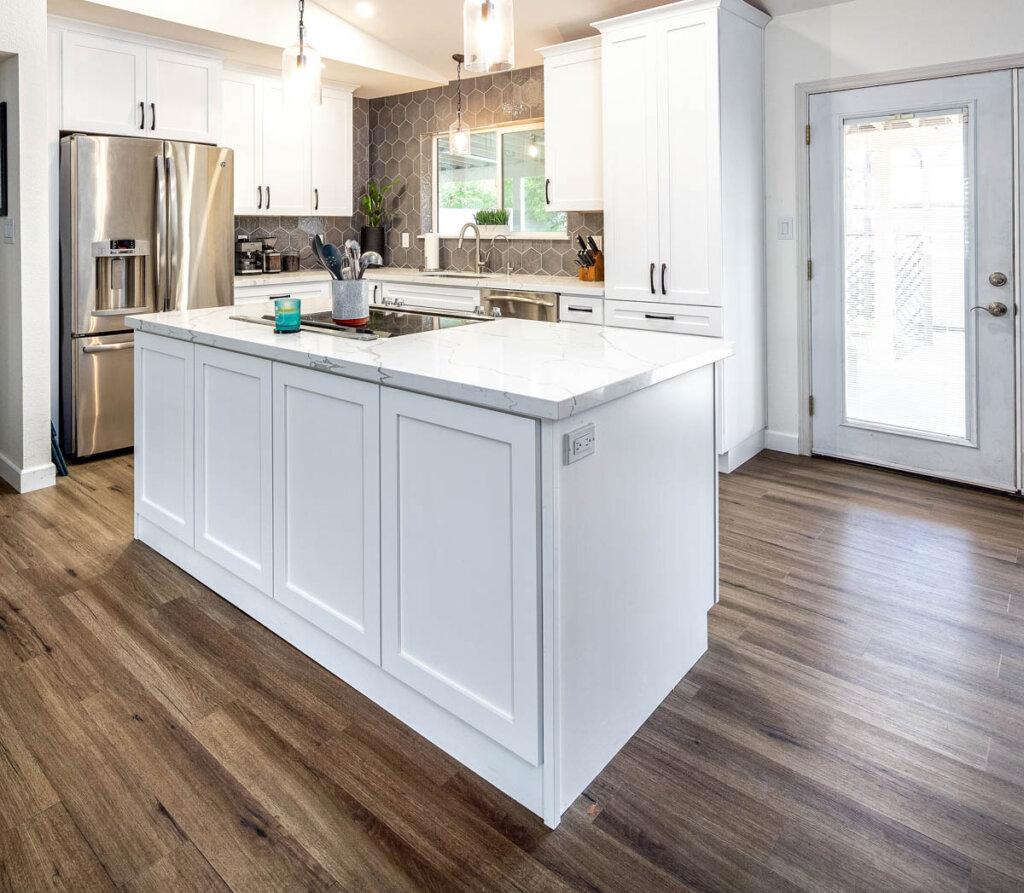 White Kitchen remodel Juanita 2