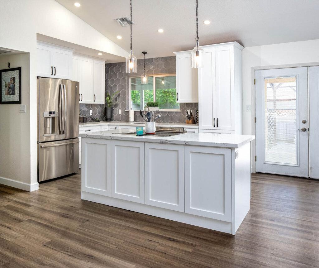 White Kitchen remodel Juanita 3
