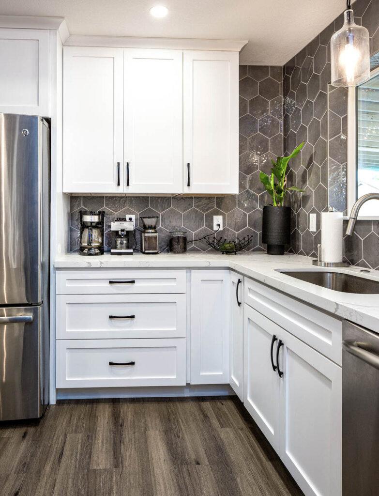 White Kitchen remodel Juanita 6