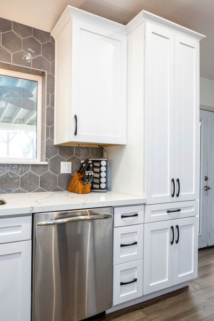 White Kitchen remodel Juanita 8